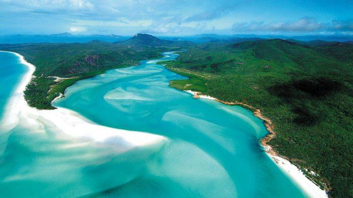 qualia Great Barrier Reef, Hamilton Island, Australia beach