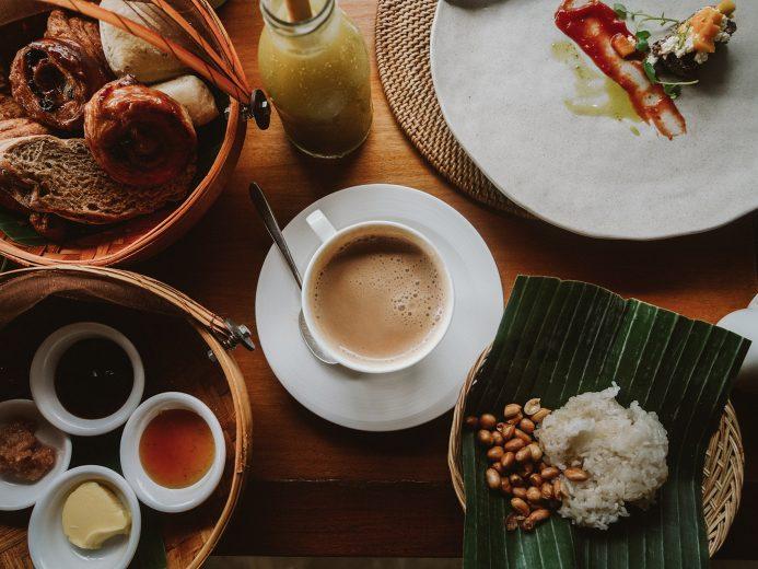 Breakfast at Alila Ubud
