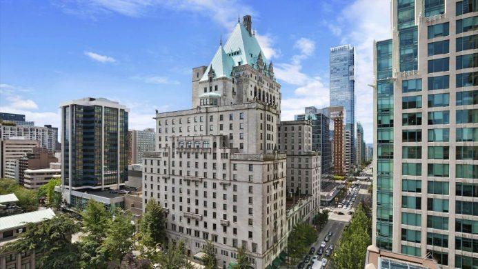 Fairmont Hotel Vancouver British Columbia