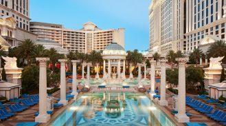 Nobu Hotel Caesars Palace pool