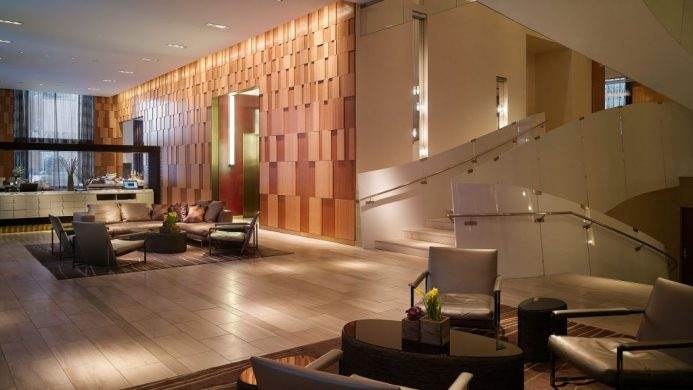 Andaz Wall Street cool hotels in Manhattan