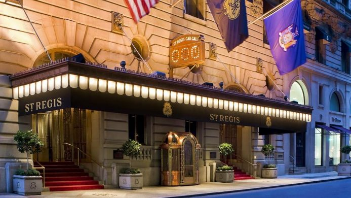 New York City For Every Type Of Traveler St Regis Famous Nyc Hotels