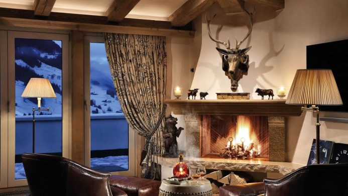 coolest ski hotels Gstaad