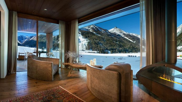 coolest ski hotels Italy