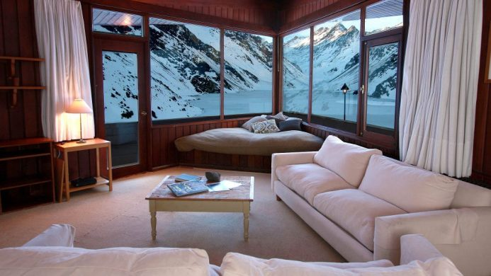 coolest ski hotels Chile