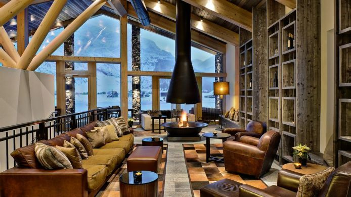 coolest ski hotels Switzerland