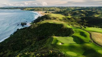 Kauri Cliffs Lodge golf