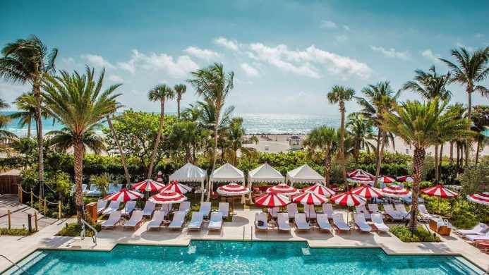 Faena Hotel Miami Beach pool