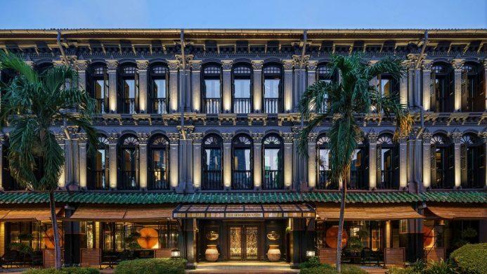 Six Senses Duxton hotel exterior