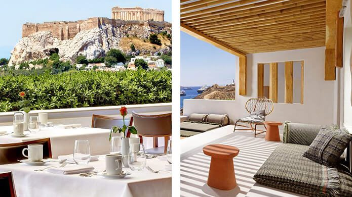 Hotel Grande Bretagne, a Luxury Collection Hotel, Athens and KENSHO Psarou