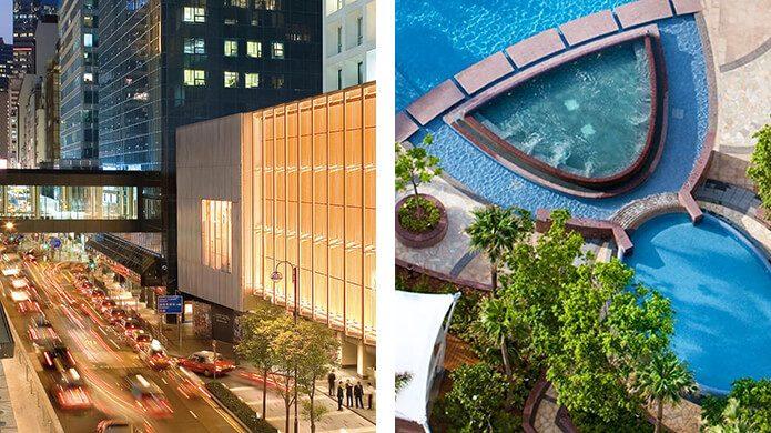 Landmark Mandarin Oriental, Hong Kong and Nüwa