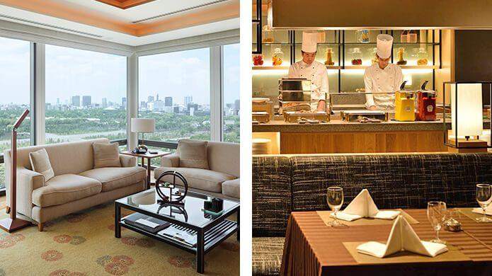 The Peninsula Tokyo and Kyoto Tokyu Hotel