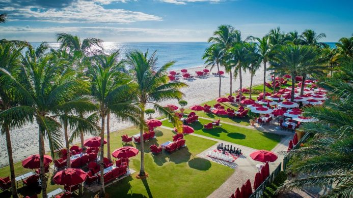 Acqualina Resort & Spa on the Beach cabanas