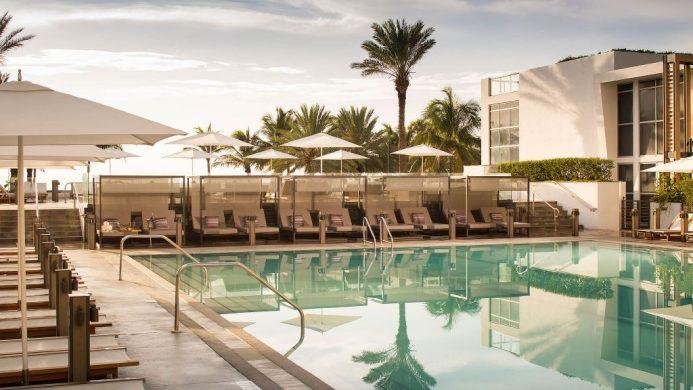 Nobu Hotel South Beach pool