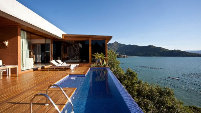 Ponta dos Ganchos Exclusive Resort is a gem of a retreat on Brazil's Emerald Coast.