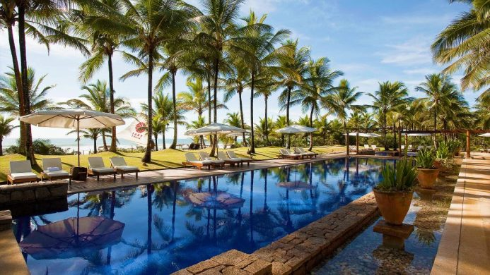 Txai Resort – Relais & Chateaux surrounded by tropical rainforests and beautiful blue water