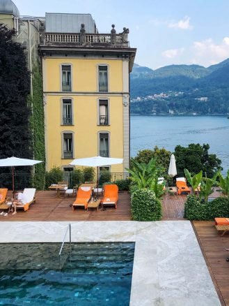 Amanda Blakley Lake Como Travel Diary
