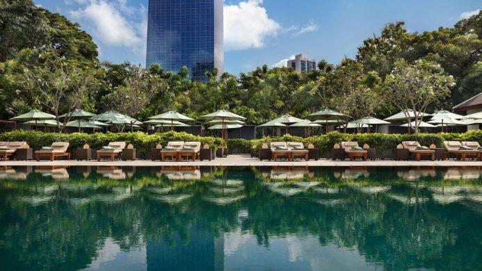 The Sukhothai Bangkok pool