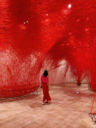 Shiota Chiharu Mori Art Museum