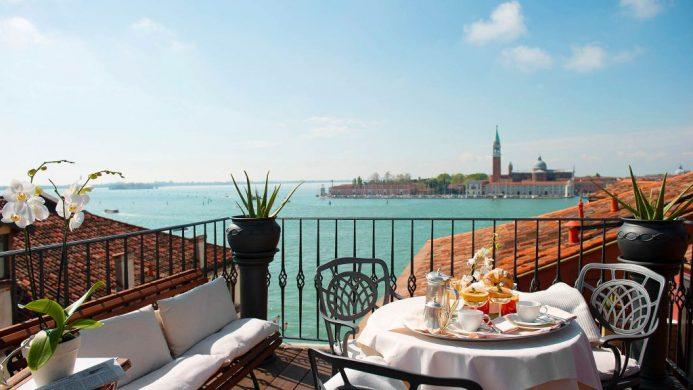 Hotel Metropole terrace view