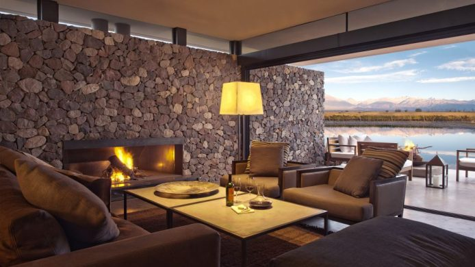 hotels with fireplaces