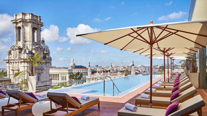 Gran Hotel Manzana Kempinski La Habana rooftop