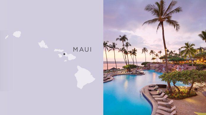 Hyatt Regency Maui oceanfront pool