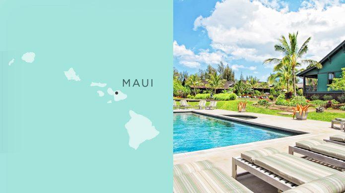 Lumeria Maui garden pool
