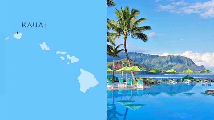 Princeville Resort oceanfront pool