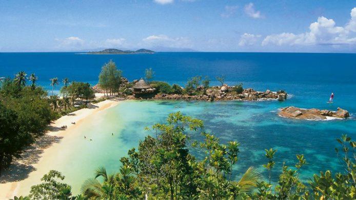 Constance Lemuria, Seychelles view