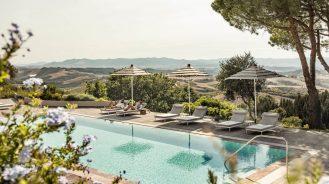 Il Castelfalfi pool