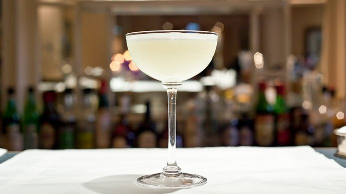 The White Lady cocktail at The Savoy hotel