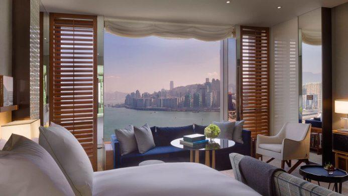 Rosewood Hong Kong view
