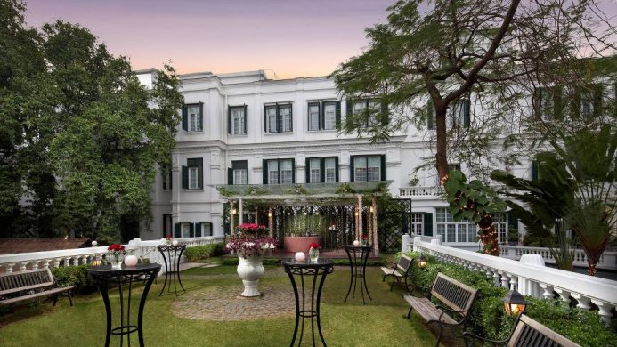 Sofitel Legend Metropole Hanoi's garden lawn