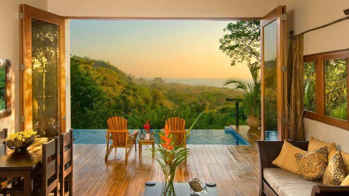 Casa Chameleon Hotel at Mal Pais Villa Sunset View