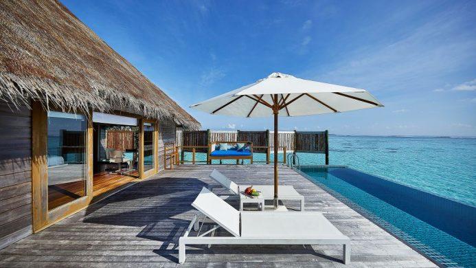 Conrad Maldives Rangali Island Premier Water Villa Pool