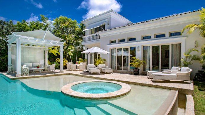 Eden Roc at Cap Cana Royale Villa Pool with three bedrooms