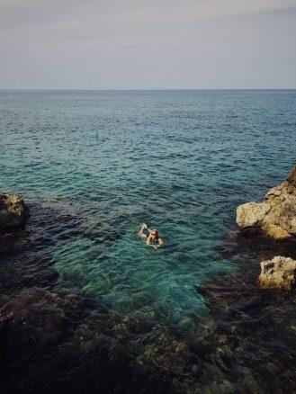 Crete swimming