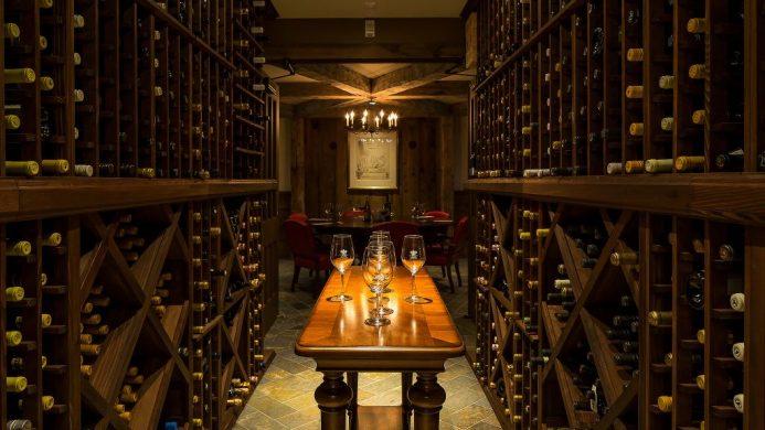 Ocean House wine cellar