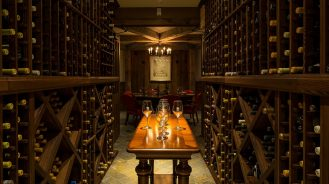 hotels with wine cellars