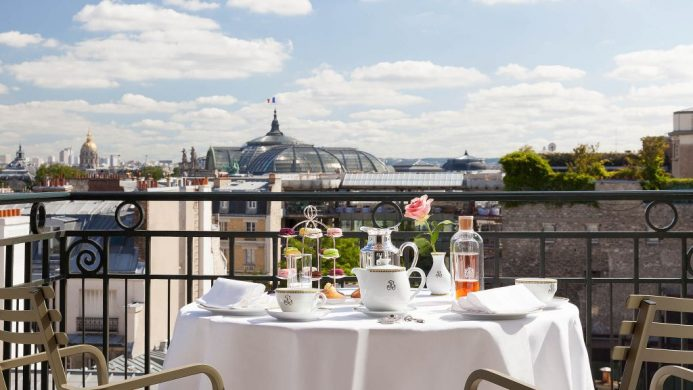 Le Bristol Paris Honeymoon Suite Terrace