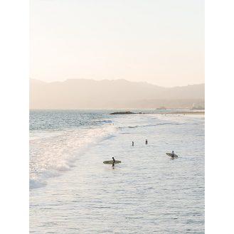 Santa Monica Surfer by Carley Rudd