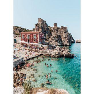 Summer in Sicily - Scopello by Madeline Lu