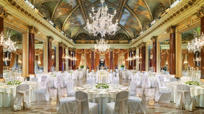 The St. Regis Rome's Ritz Ballroom