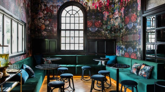 Ovolo Inchcolm's Salon de Co lobby cafe