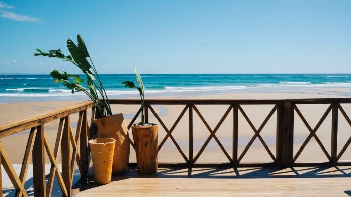 Sentidos Beach Retreat's terrace on the beach