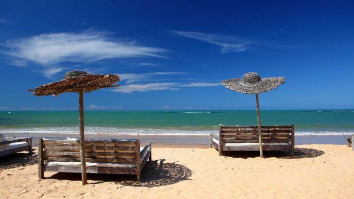 UXUA Casa Hotel & Spa's sofas on the beach
