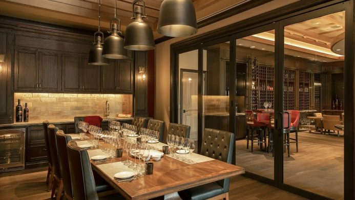 Vista Collina Resort's Trinitas Cellars tasting room